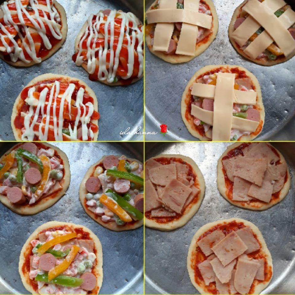 Resipi Roti Sosej Mini Pizza Lembut Sedap Sangat Ilhamresipi